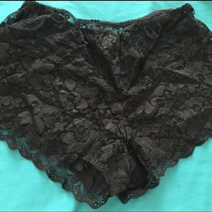 Other - Lace boy shorts